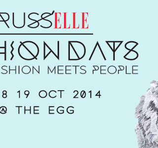 AGENDA : Brussels Fashion Days ce week-end!