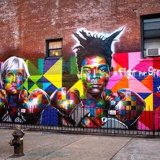 ART : Basquiat and Andy Warhol in Brooklyn !