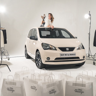 E-TV a shooté avec la new SEAT MII by Mango !
