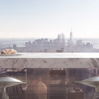 ARCHITECTURE : L'appartement le plus haut de Manhattan