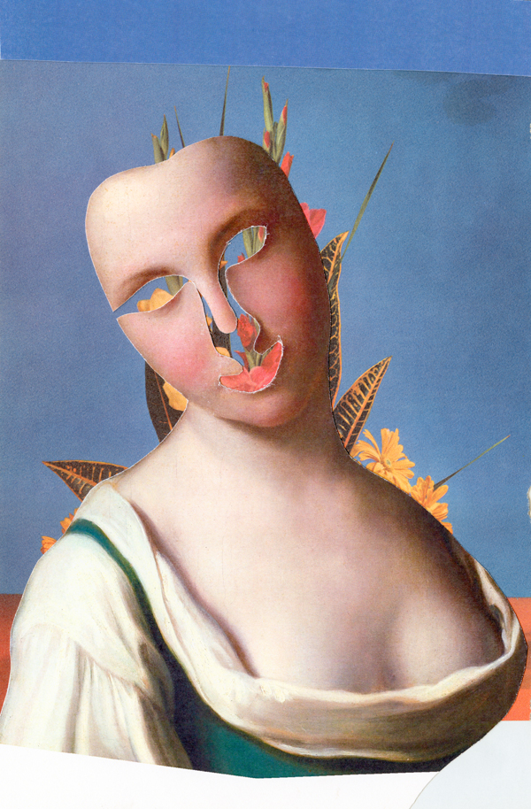 The-Girl---collage-on-paper---2013---14-x-10,75---003