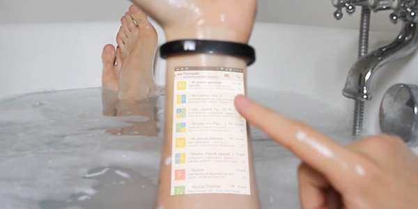 HIGH TECH : The Cicret Bracelet, like a tablet…but on your skin