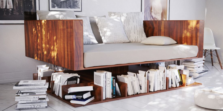 Design ransa ou le canap biblioth que e tv for Canape voyage immobile