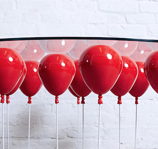 DESIGN : UP Balloon Coffee Table