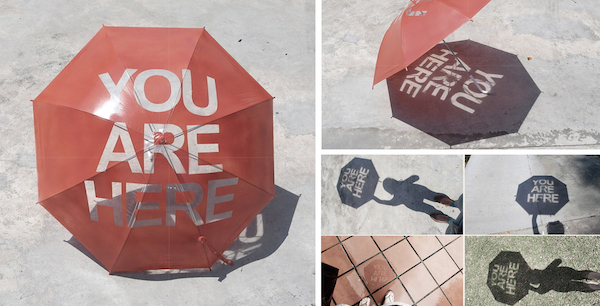 """COOL : """"You are here"""" de Nadiah Alsagoff"""