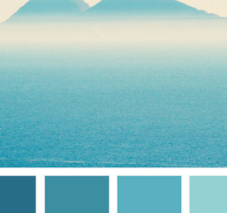 TENDANCES : Color palettes inspired by nature