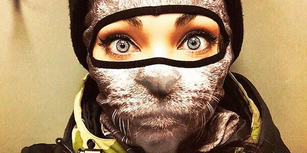 MODE : Animal Ski Masks by Teya Salat