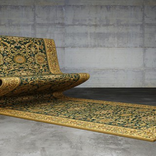 DESIGN : Carpet Sofa sur mesure