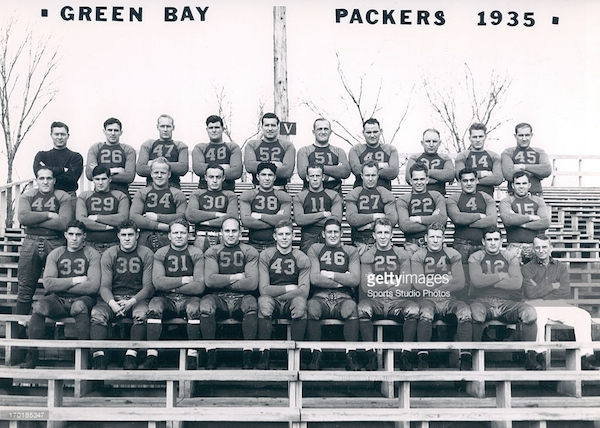 Green Bay Packers 1935