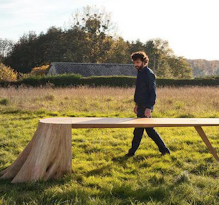 DESIGN : La table Racine Carré !