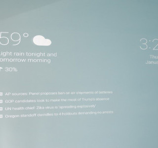 HIGH TECH : Google Now Mirror