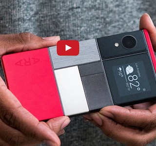 HIGH-TECH : Smartphone modulable by Google