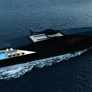 BOAT : BLACK SWAN SUPERYACHT BY TIMUR BOZCA