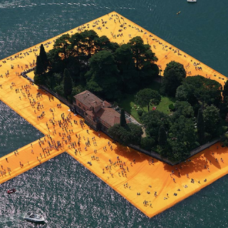 ART : Christo emballe l'Italie…