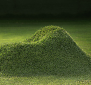 GREEN : Terra Grass armchair by Nucleo