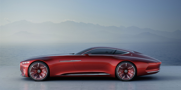 MOTEUR : Vision Mercedes-Maybach 6