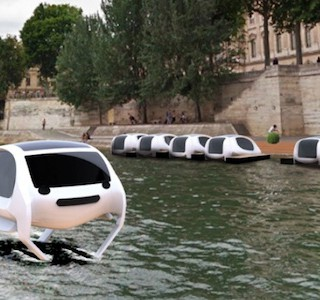 HI-TECH : Traverser Paris en bubbles !