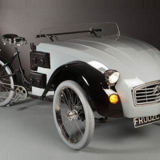 MOTEUR : Citroën C2 Paris electric tricycle
