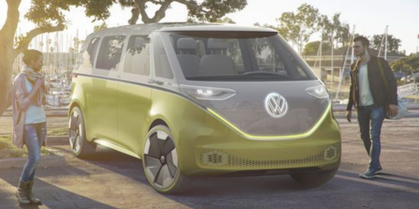MOTEUR : Volkswagen I.D. BUZZ concept self-driving electric