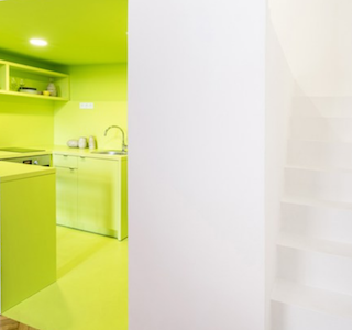 INTERIEUR : Three colorful studios in Budapest