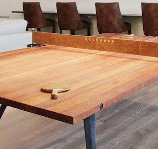 DESIGN : Wood Ping Pong Table