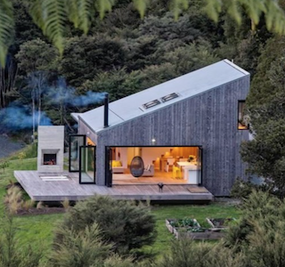 ARCHITECTURE : David Maurice et sa Back Country House