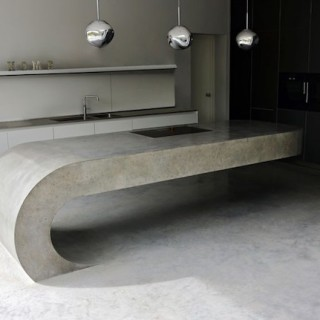 DESIGN : Concrete Kitchen