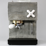 DESIGN : Concrete espresso machine by Montaag