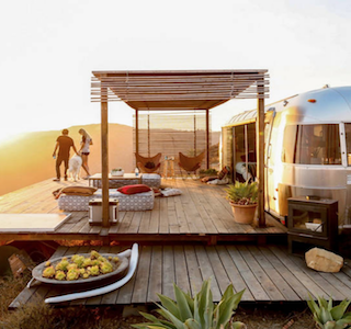 Airbnb : Dream Airstream à Malibu