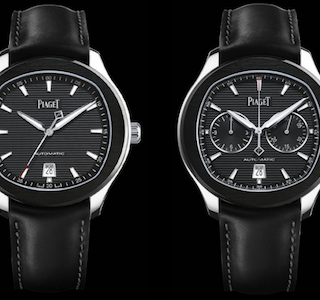 WATCH THIS : Piaget Polo S Black