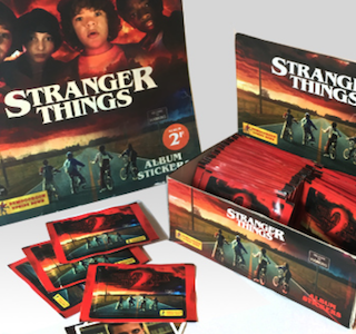 COOL : Un album Panini Stranger Things