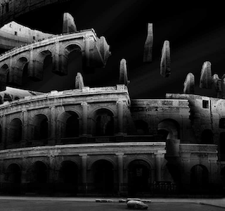 PHOTOGRAPHIE : Black & White Deconstructed Monuments