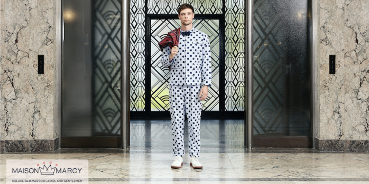 Maison Marcy : Deluxe pyjamas for Gentlemen & Ladies